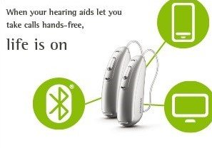 Phonak Audeo B Direct Hearing aid infographic
