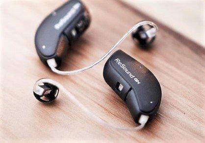 """Pair of ReSound Quattro hearing aids"""""""