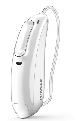 Phonak Audeo marvel white hearing aid