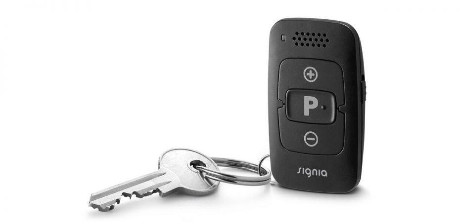 Signia MiniPocket remote control hearing aid accessory
