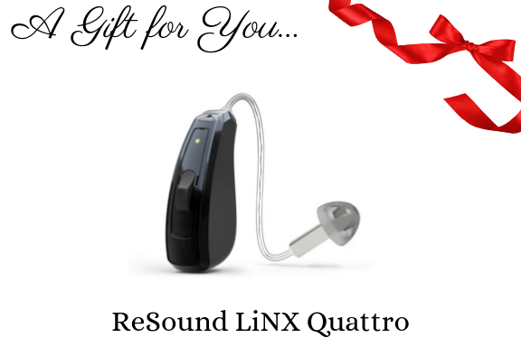 Resound linx quattro hearing aid gift certificate