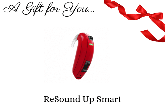 Resound Up smart hearing aid gift certificate