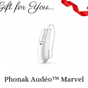 phonak audeo marvel hearing aid gift certificate