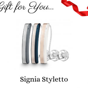 signia styletto hearing aid gift certificate