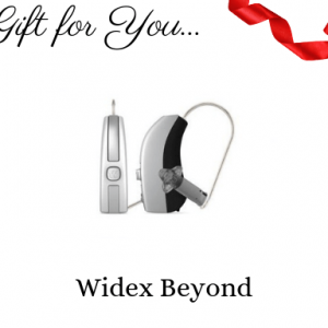 widex beyond hearing aid gift certificate