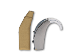 Ear gear hearing aid protection for hearing aids